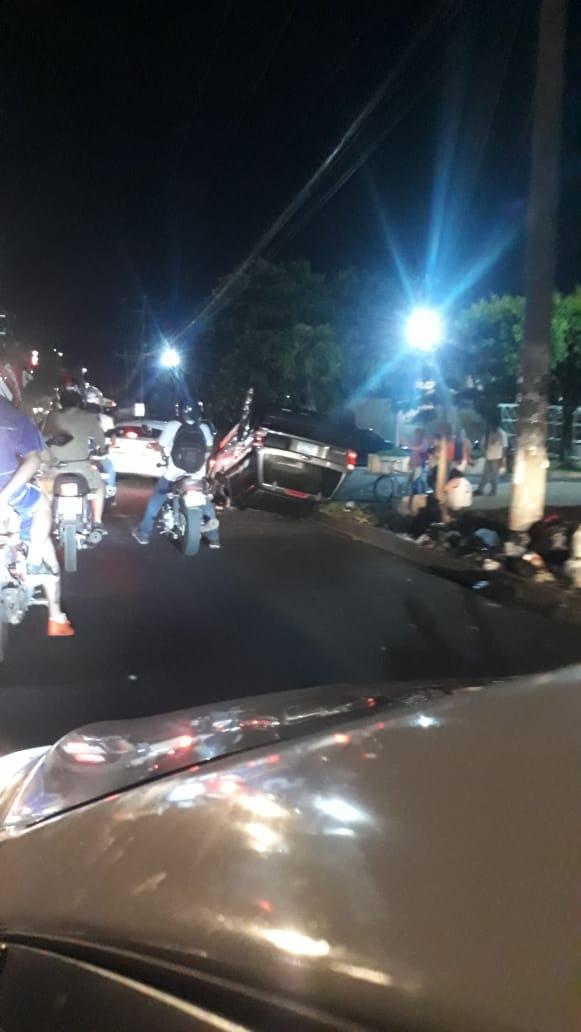 accidente Santa Ana